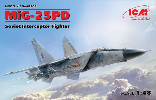Mikoyan-Gurevich MiG-25PD Foxbat fighter 1/48