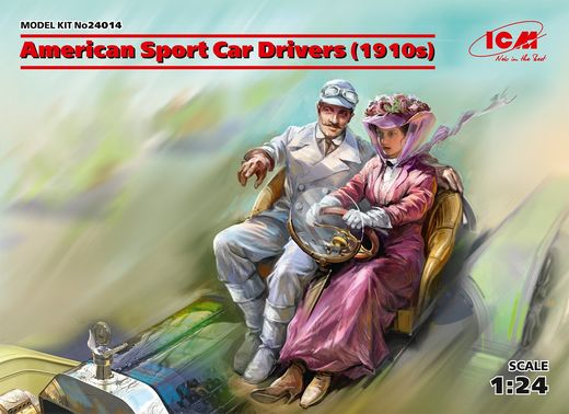 American Sport Car Drivers (1910s) 1/24