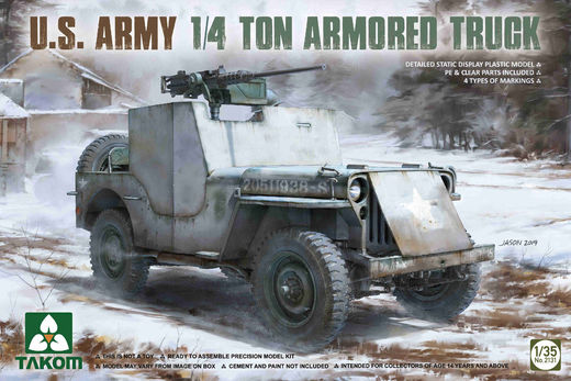 U.S. Army 1/4 ton Armored Truck 1/35