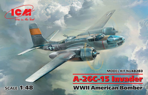 A-26C-15 Invader - WWII American Bomber 1/48