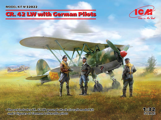 CR.42 LW with German Pilots 1/32