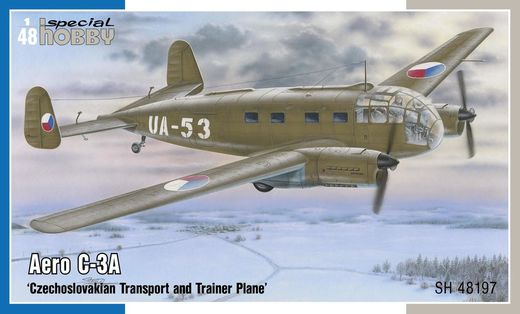 Aero C-3A 'Czechoslovakian Transport and Trainer Plane' 1/48