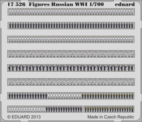 Figures Russian WWI  1/700