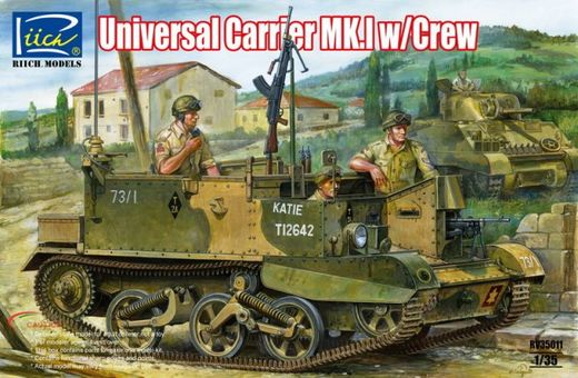 Universal Carrier Mk.I (with crew) 1/35