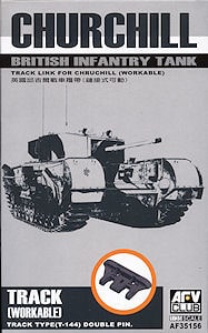 Churchill workable track 1/35