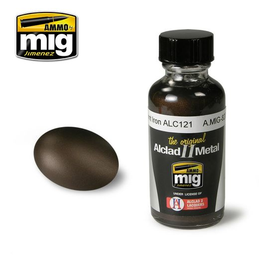 ALCLAD II - AMMO METALLIC PAINTS BURNT IRON ALC121