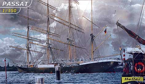 Passat four-masted barque 1/150