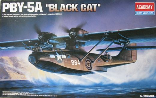 Consolidated PBY-5A Catalina 'Black Cat' 1/72