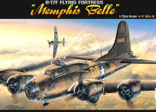 "Boeing B-17F Flying Fortress ""Memphis Belle""  1/72"