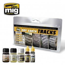DRY EARTH TRACKS WEATHERING SET