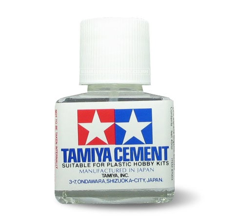 Tamiya Cement for plastic models  (40ml) - muoviliima