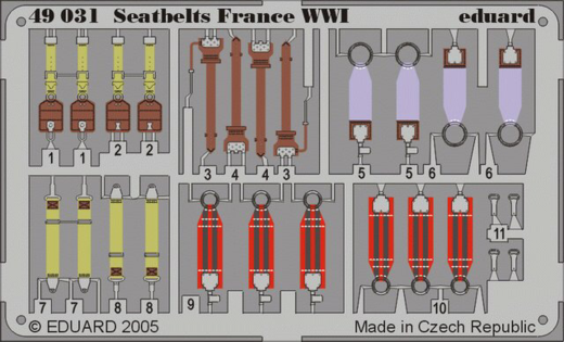 Seatbelts Luftwaffe WW2 Bombers