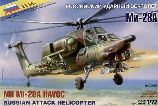 MIl Mi-28A Havoc attack helicopter 1/72