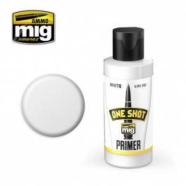ONE SHOT PRIMER - WHITE - akryyli