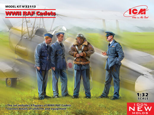 WWII RAF Cadets 1/32