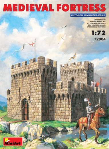 Medieval  Fortress 1/72