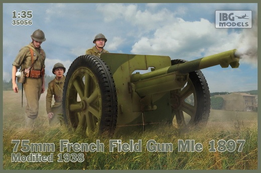 75mm French Field Gun Mle 1897-Modified 1938 1/35