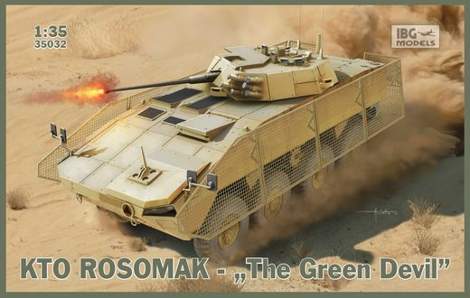 "KTO Rosomak ""The Green Devil"" 1/35"