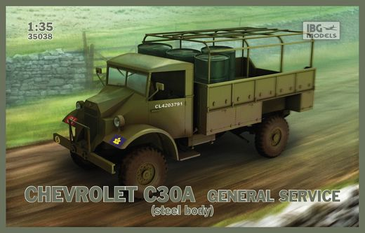 Chevrolet C30A General service (steel body) 1/35