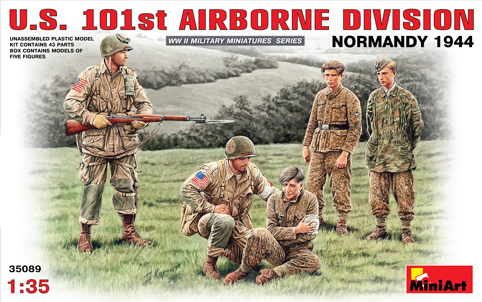 US 101st Airborne Division Normandy 1/35