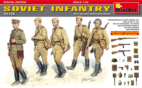 Soviet Infantry. Special edition 1/35