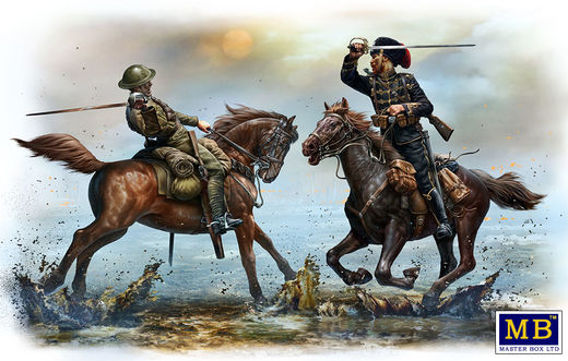 WW1 British and German Cavalrymen 1/35