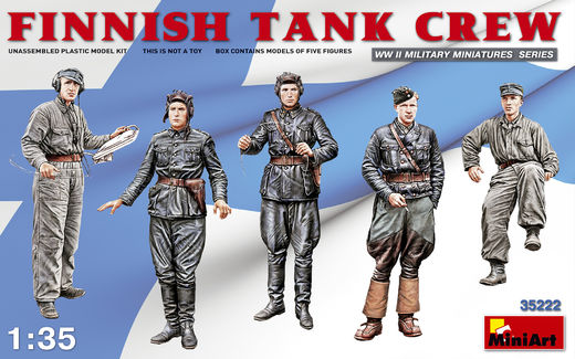 Finnish Tank Crew WW2 1/35