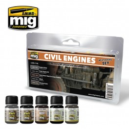 CIVIL ENGINES   WEATHERING SET