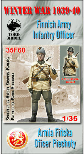 Winter War 1939-40 Finnish Army Infantry officer 1/35