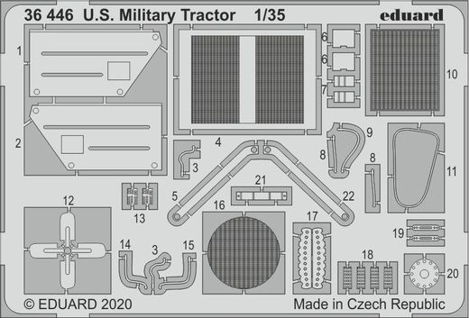 U.S. Millitary Tractor 1/35  AIRFIX