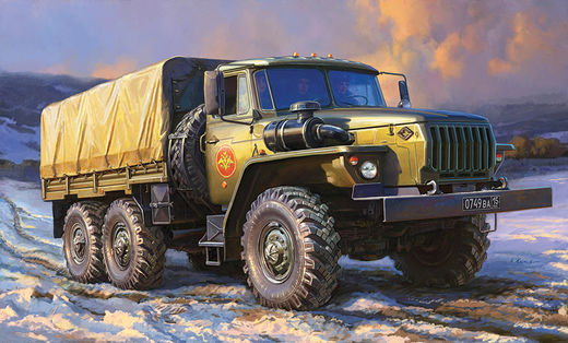 Russian army truck URAL-4320 1/35
