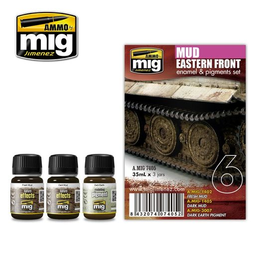 EASTERN FRONT MUD WEATHERING SET
