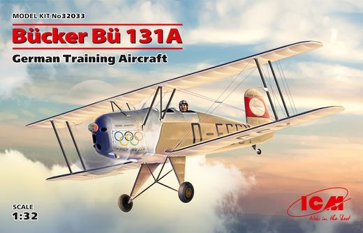 Bucker Bu-131A German Training Aircraft 1/32