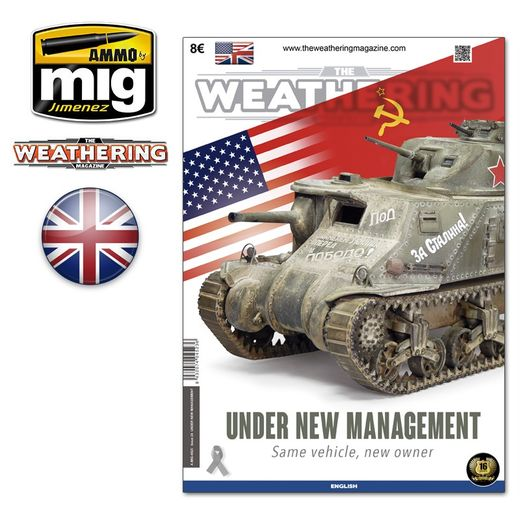THE WEATHERING MAGAZINE Issue 24.   UNDER NEW MANAGEMENT English