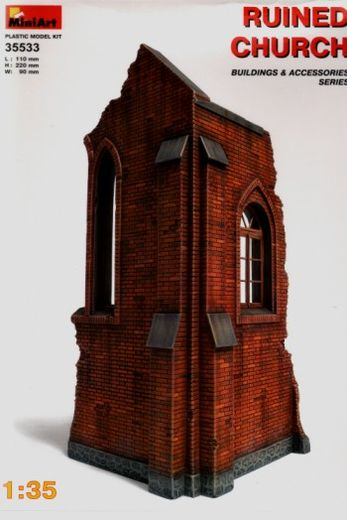 Ruined church 1/35
