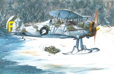Gloster Gladiator II SUOMI 1/48