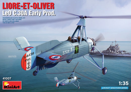 LIORE-ET-OLIVER LeO C.30A Early Prod. 1/35