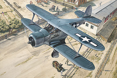 Beechcraft GB-2 Staggerwing 1/48