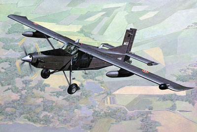 Pilatus PC-6/B2-H4 Turbo Porter France 1/48