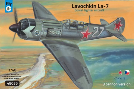 Lavochkin La-7 (3 cannon version) 1/48