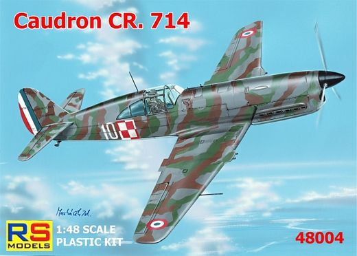 Caudron CR.714 France, SUOMI 1/48
