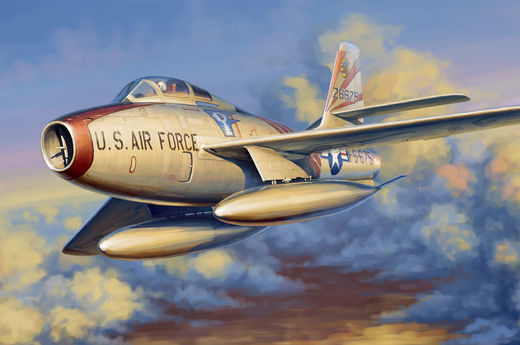 Republic F-84F Thunderstreak 1/48