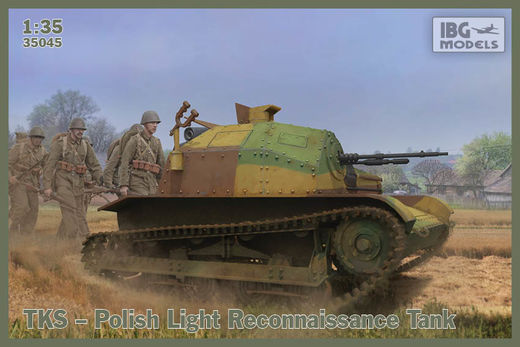TKS Polish Tankette (with two figures) 1/35