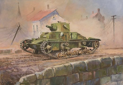 British Light Tank Matilda Mk I 1/100  SNAP
