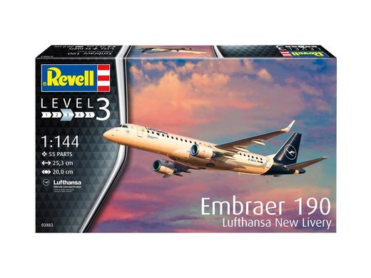 Embraer 190 Lufthansa new livery 1/144
