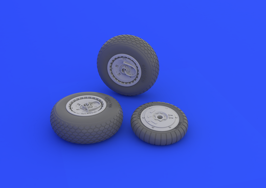 Messerschmitt Me 262 wheels 1/32