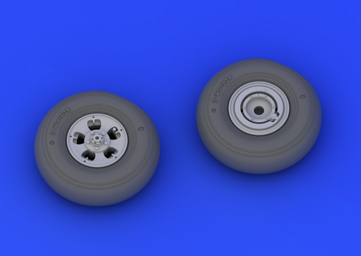 Supermarine Spitfire Mk. I/II wheels 1/32