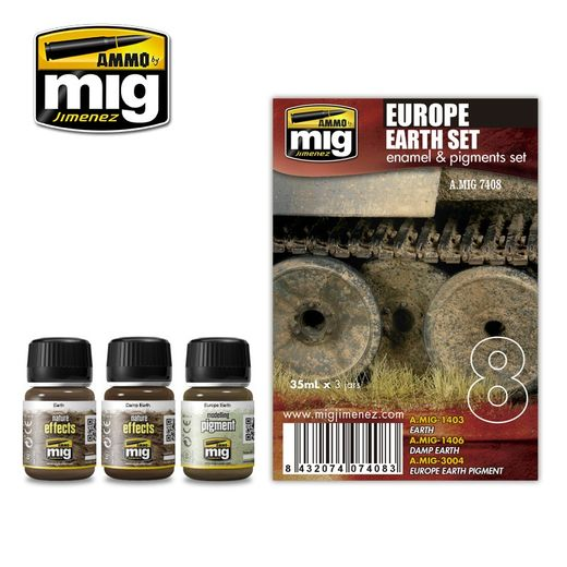 EUROPE EARTH   WEATHERING SET