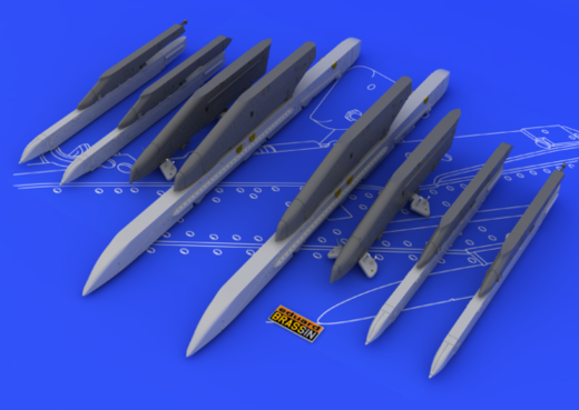 Su-25K Frogfoot wing pylons 1/48