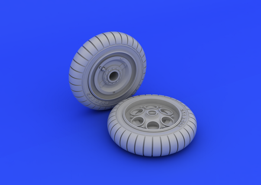 Focke-Wulf FW 190 wheels early 1/48